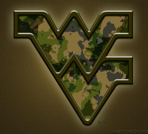 WVU Camo Flying WV Logo 2012 Flickr   Photo Sharing 500x453