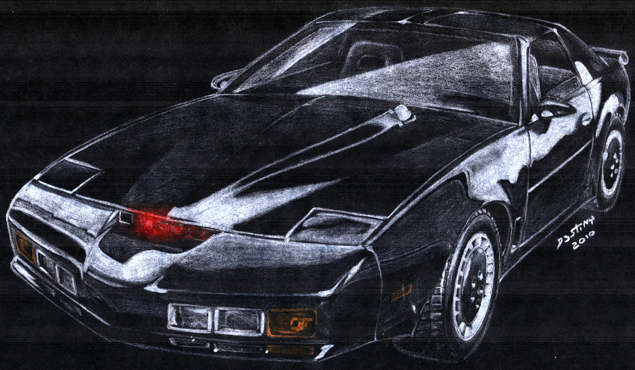 Knight Rider KITT Art The Car Wallpapers 1280x746
