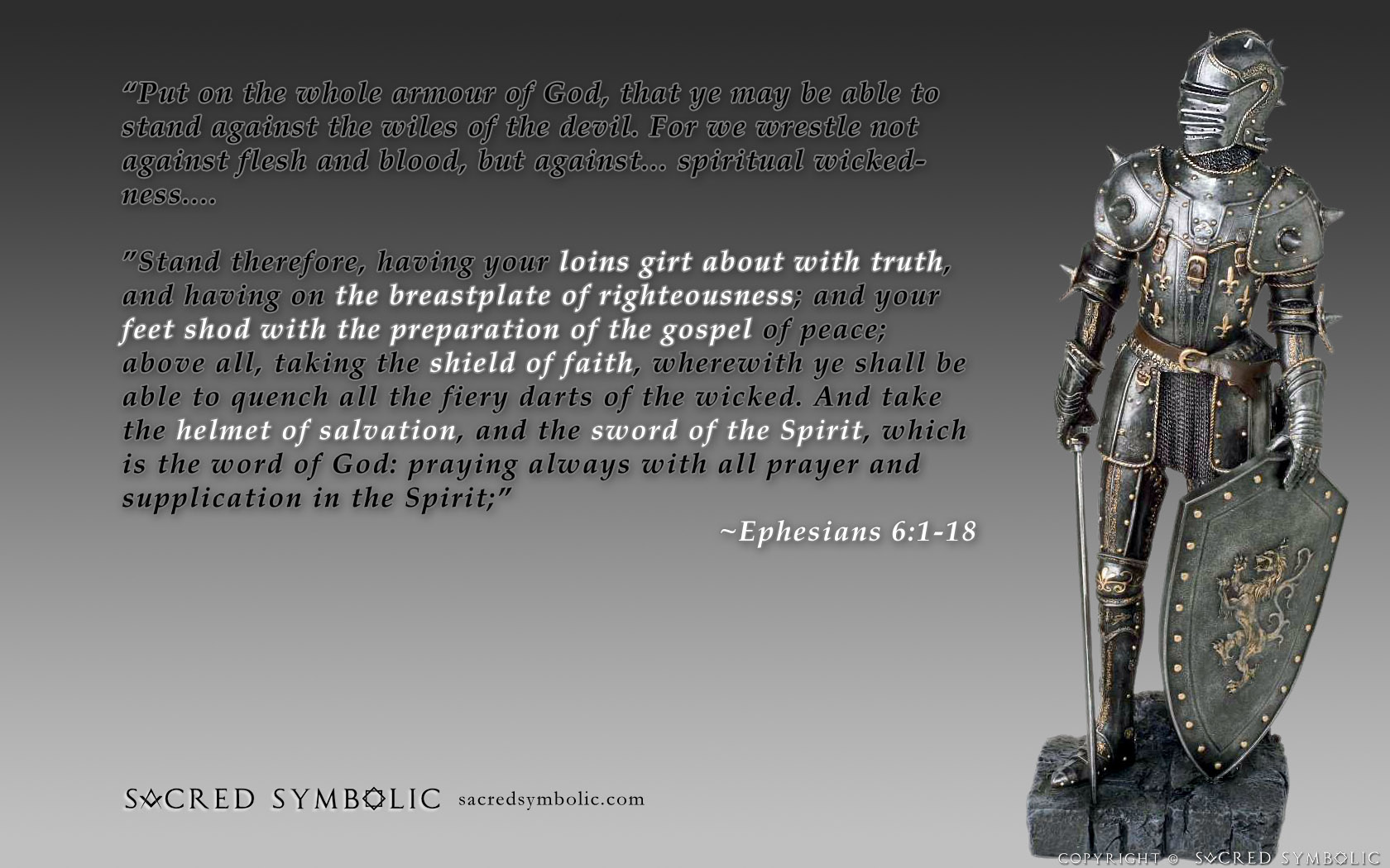 Ephesians 61 18 Wallpaper   Christian Wallpapers and Backgrounds 1680x1050