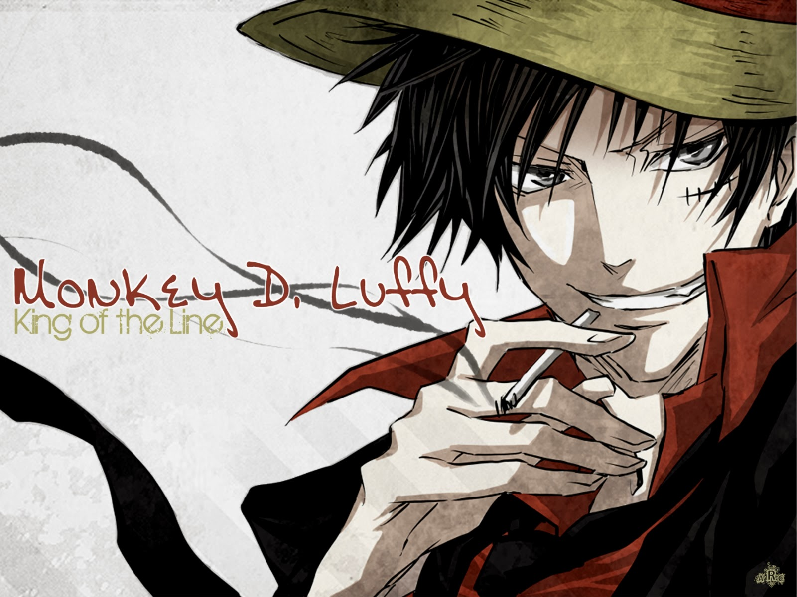 Free Download Monkey D Luffy Pirate King One Piece Anime Hd