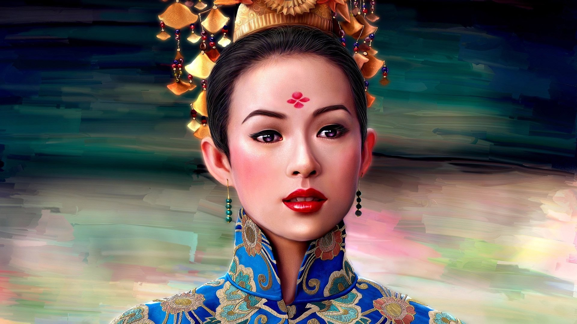 Geisha wallpaper 5232 1920x1080