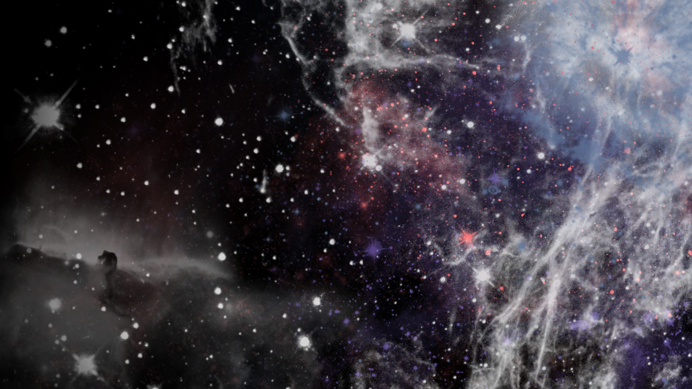 3d Galaxy Wallpaper With Quotes QuotesGram 1366x768