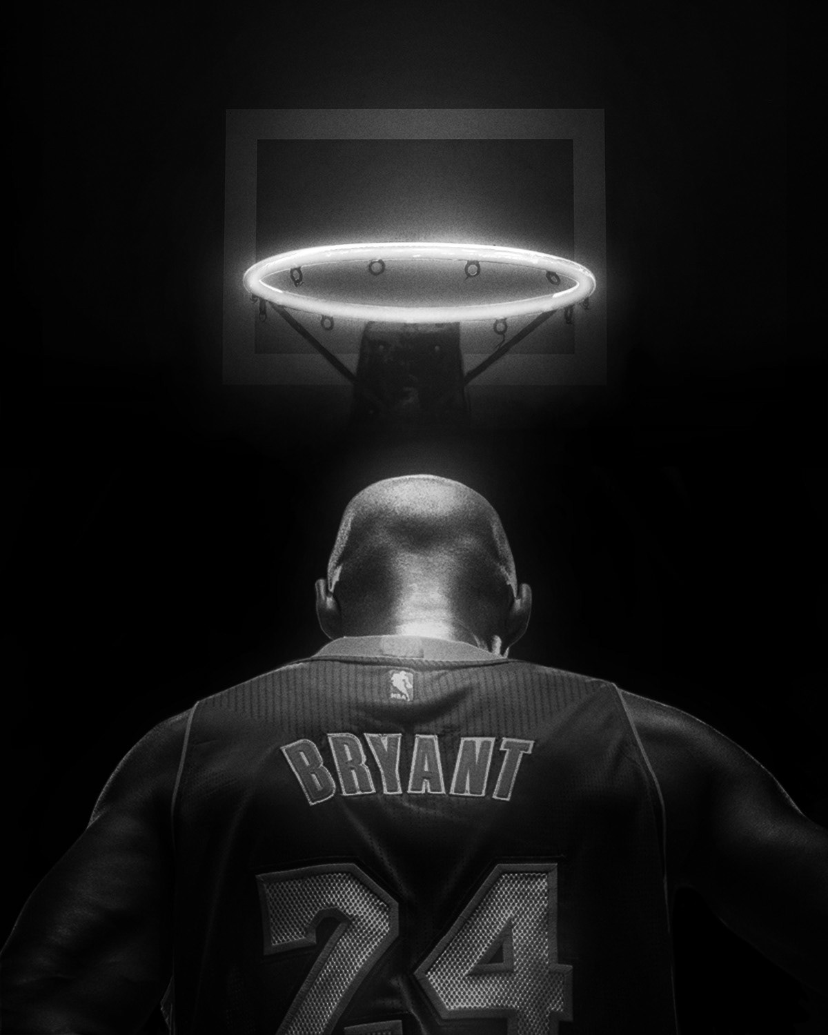 Kobe Tribute iPhone Wallpapers on Behance 1200x1500
