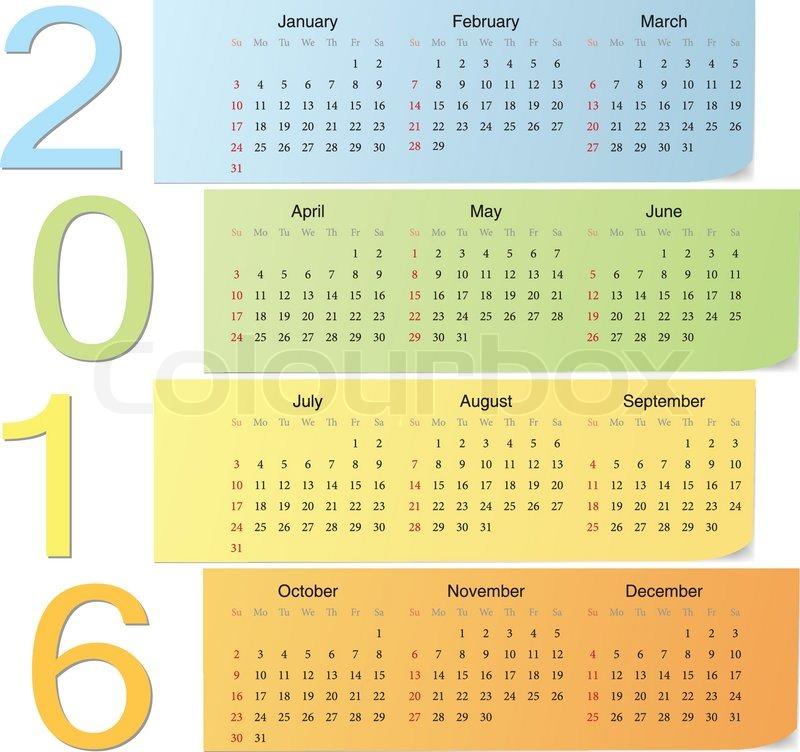 Calendar 2016 Wallpaper View HD Image of Printable Calendar 2016 800x752