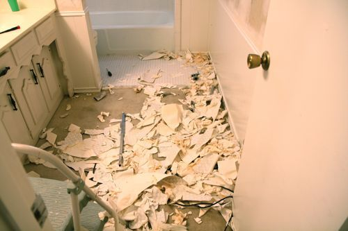 Removing wallpaper from unprimed drywall How to remove wallpaper 500x333
