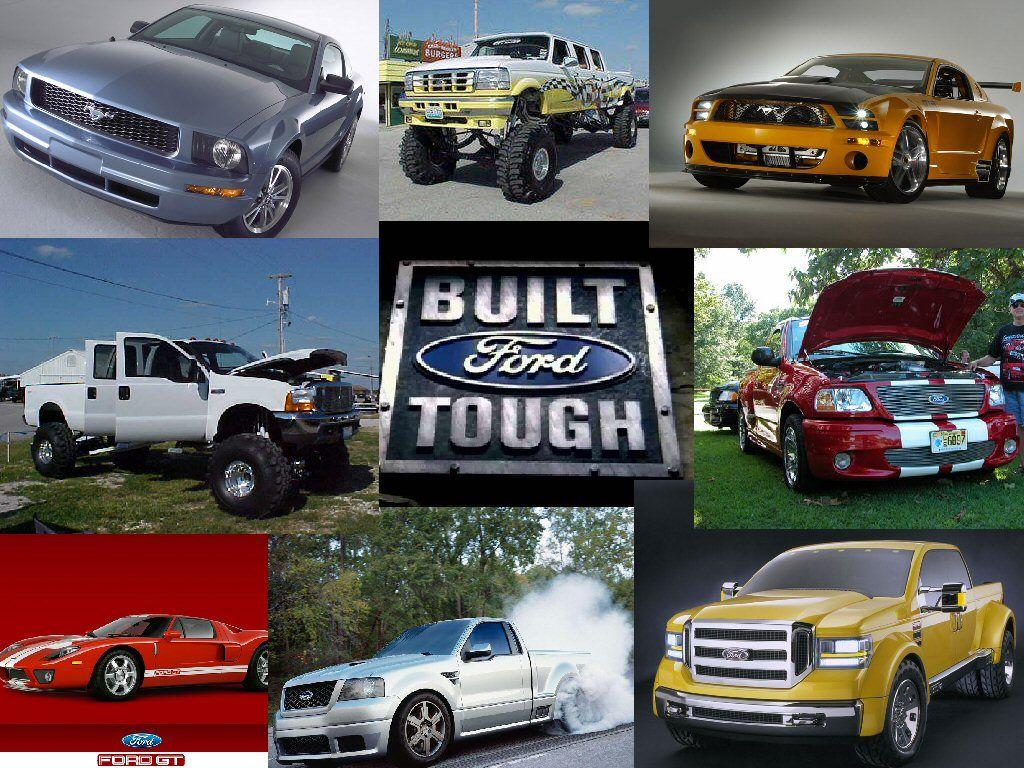 Built Ford Tough Wallpaper by salaehya 1024x768
