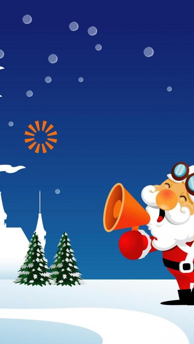 48 Free Phone Christmas Wallpaper On Wallpapersafari