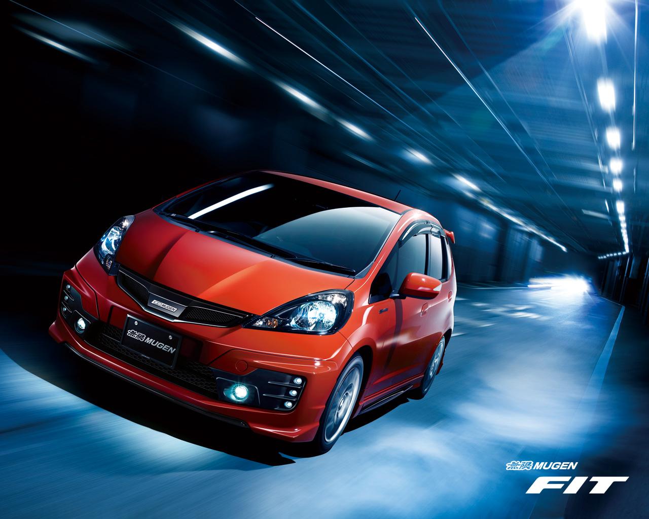 Japanese Tuning cars   Mugen Fit   Honda wallpapers Domo 1280x1024