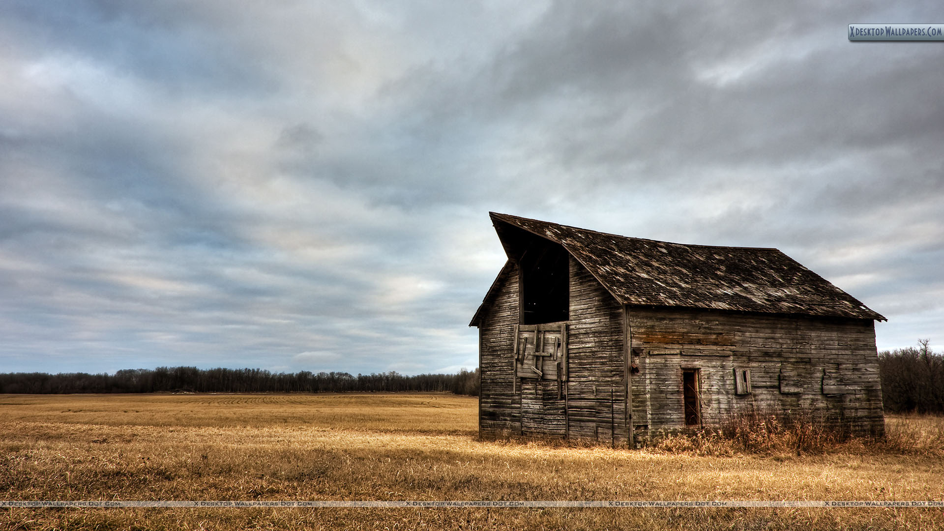 Old Wooden House Wallpaper 1920x1080