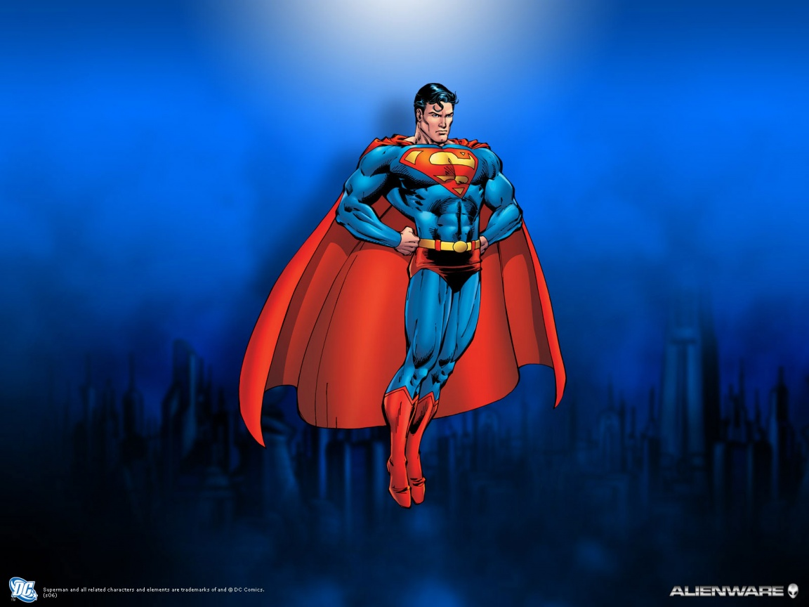 1152x864 Superman desktop PC and Mac wallpaper 1152x864