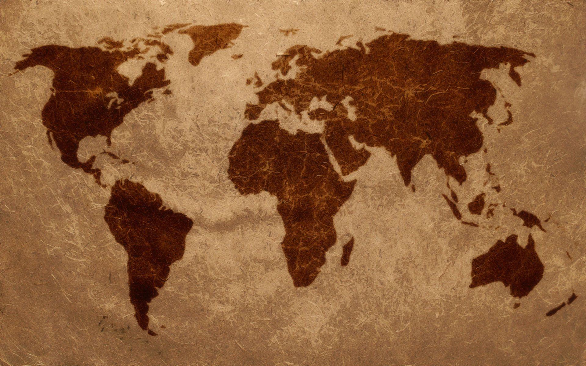 World map Wallpaper 5790 Home Decor World map wallpaper Map 1920x1200