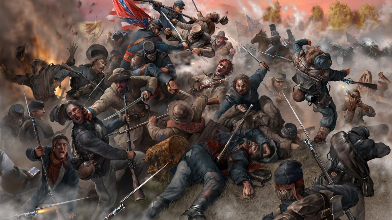 American Civil War Wallpapers 1366x768