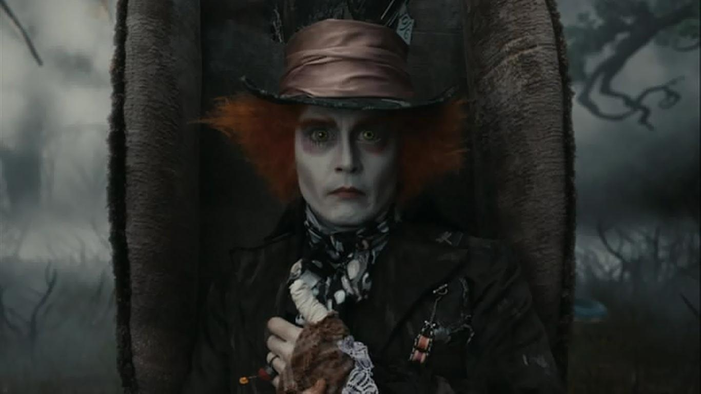 Johnny Depp Mad Hatter Wallpaper - WallpaperSafari