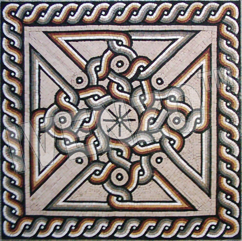 Ancient Roman Mosaic Patterns