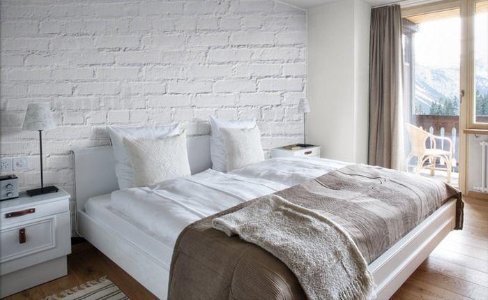 white brick removable wallpaper 2016   White Brick Wallpaper 700x430