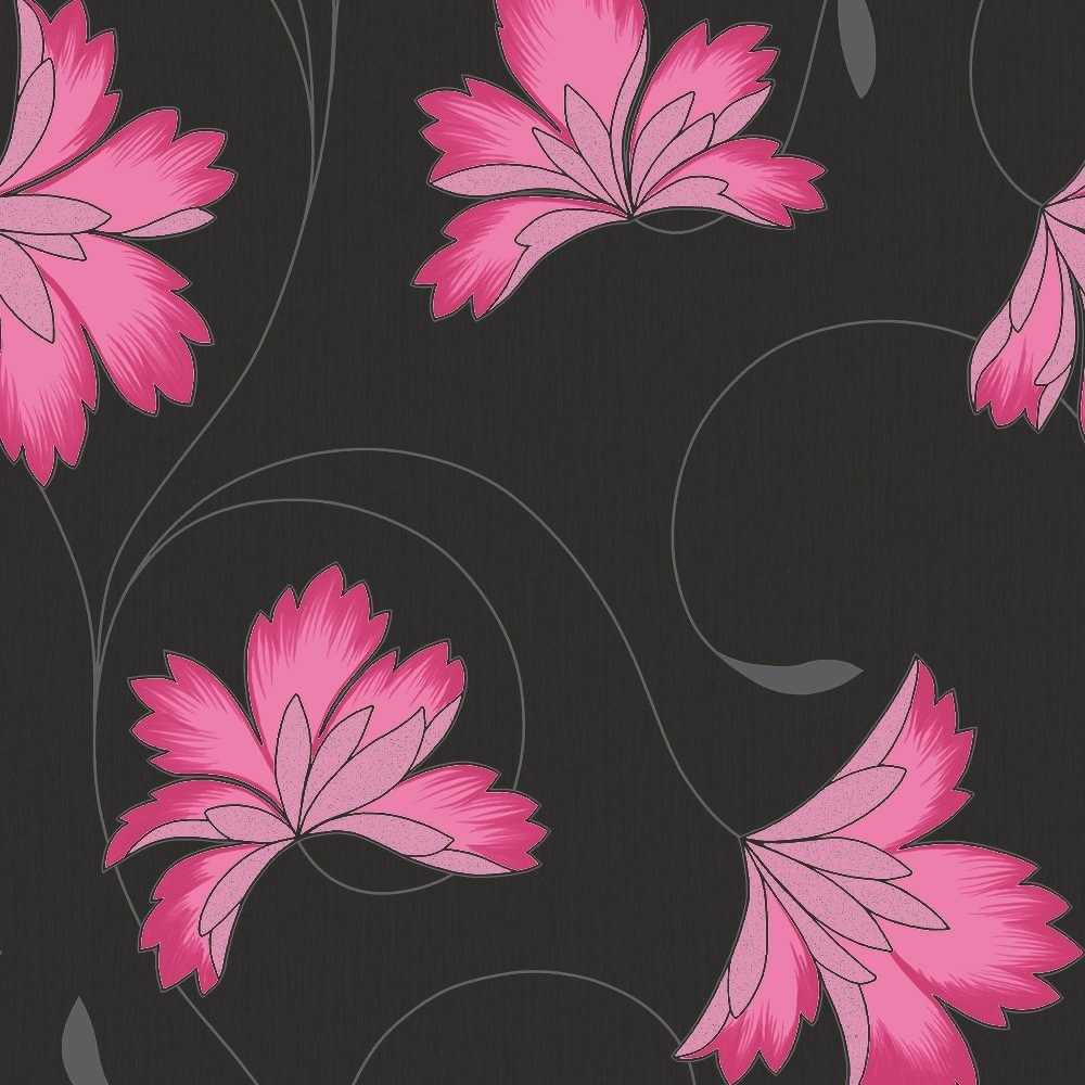 Black And Pink Wallpaper Wallpapersafari