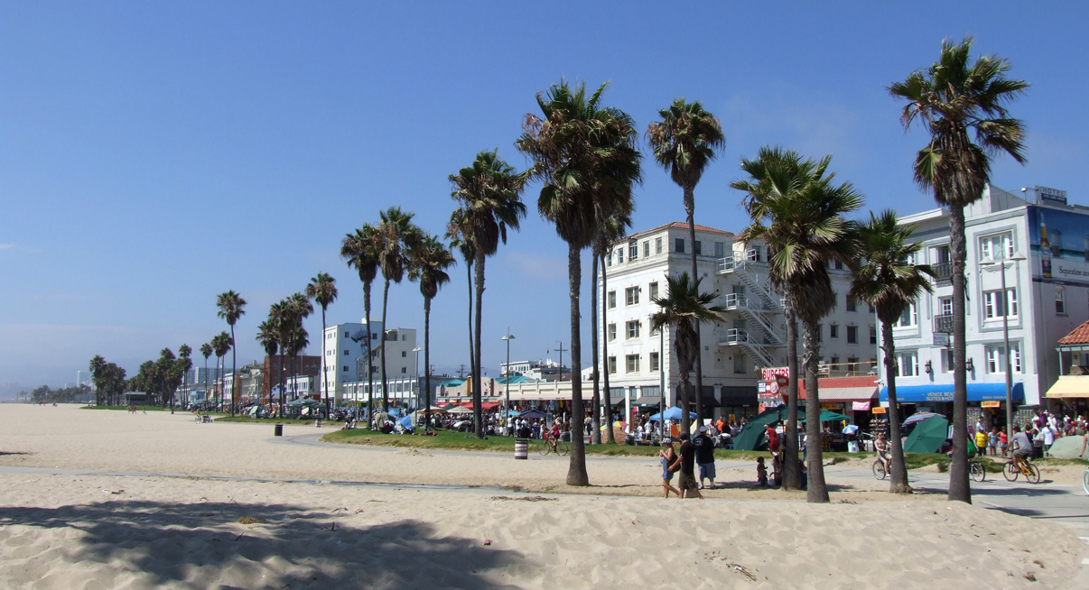 Venice Beach California Wallpaper 1206x654