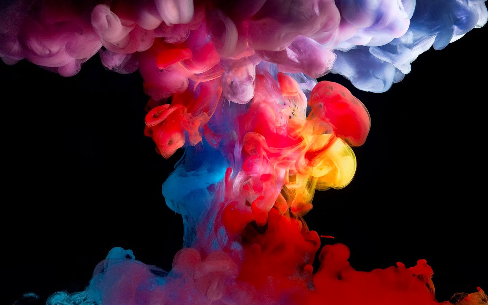 wallpapers Colorful Smoke Wallpapers 1600x1000