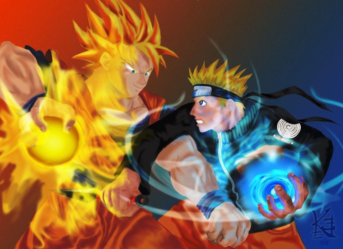 Naruto Vs Goku Live Wallpaper Download   Naruto Vs Goku 1409x1024