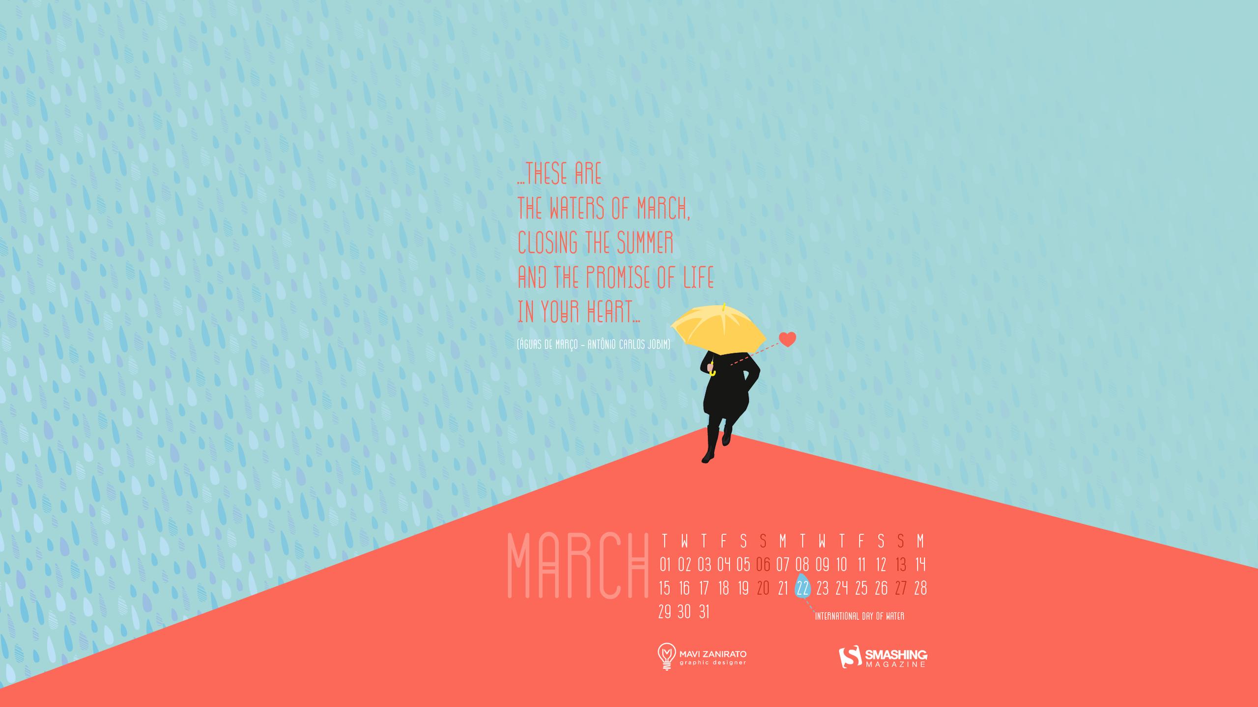 Desktop Wallpaper Calendars March 2016 Smashing Magazine 2560x1440