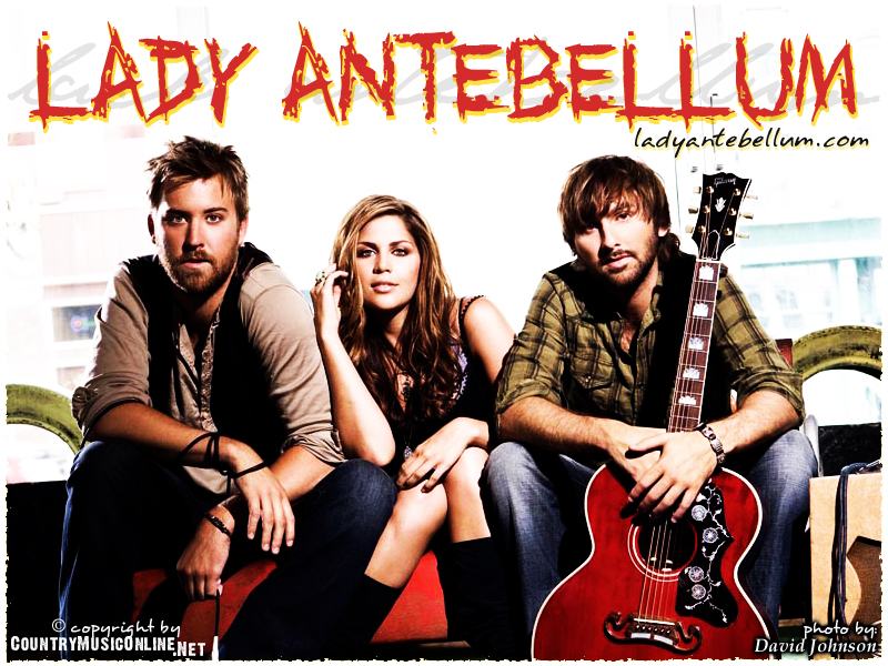 LADY ANTEBELLUM Wallpapers 800x600