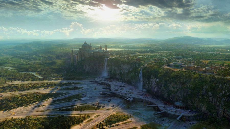 Star wars Landscape by Calengklik 900x506