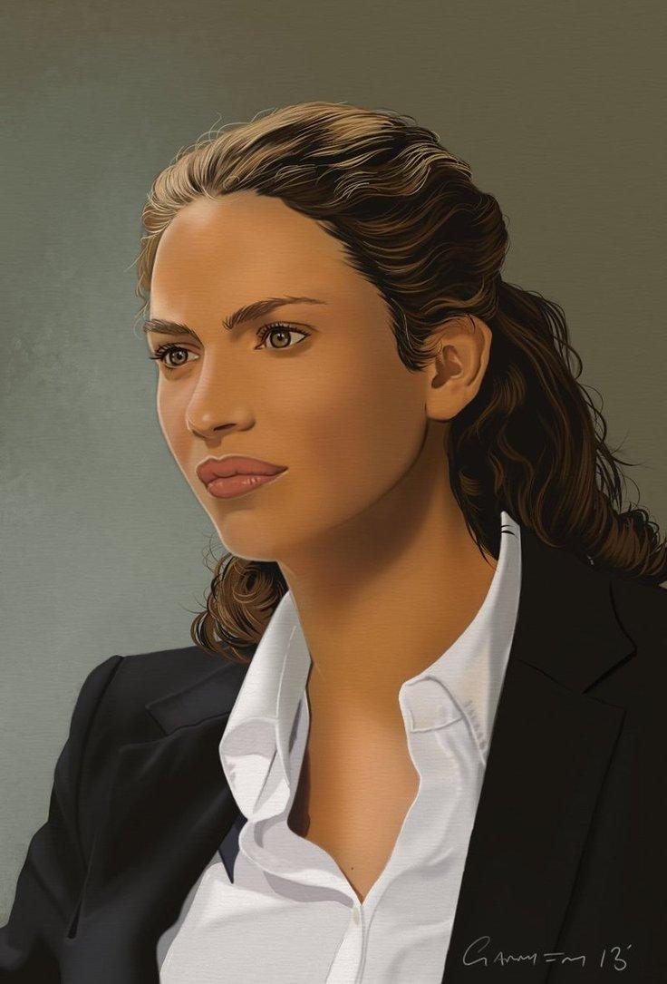 Joanne Kelly Portrait by garrypfc 736x1085