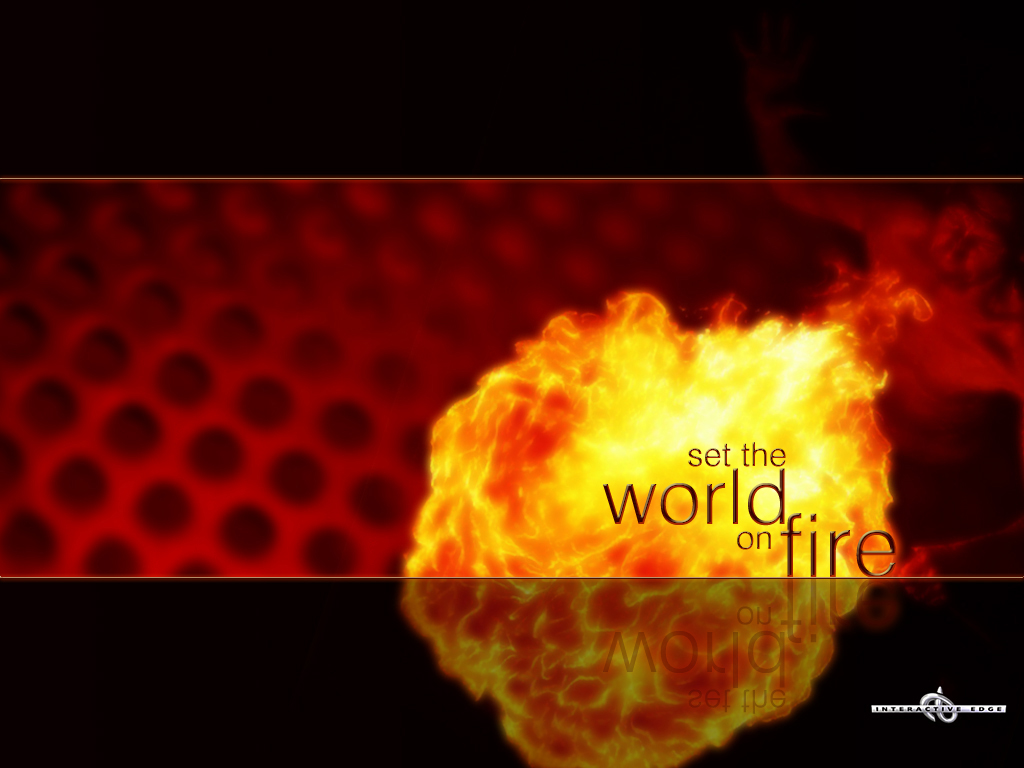 World On Fire Wallpaper - Free Desktop Background Wallpapers
