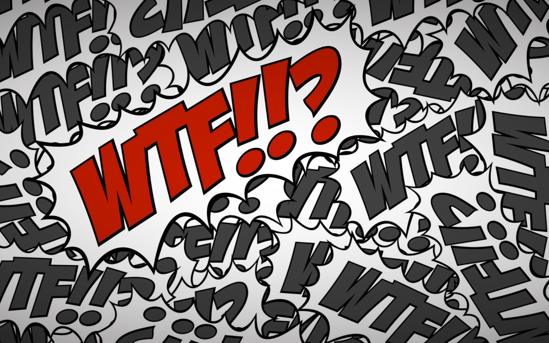WTF Internet Slang Desktop Wallpaper 1920x1200