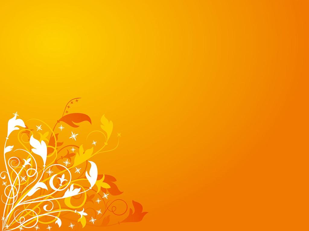 Orange Background 1024x768