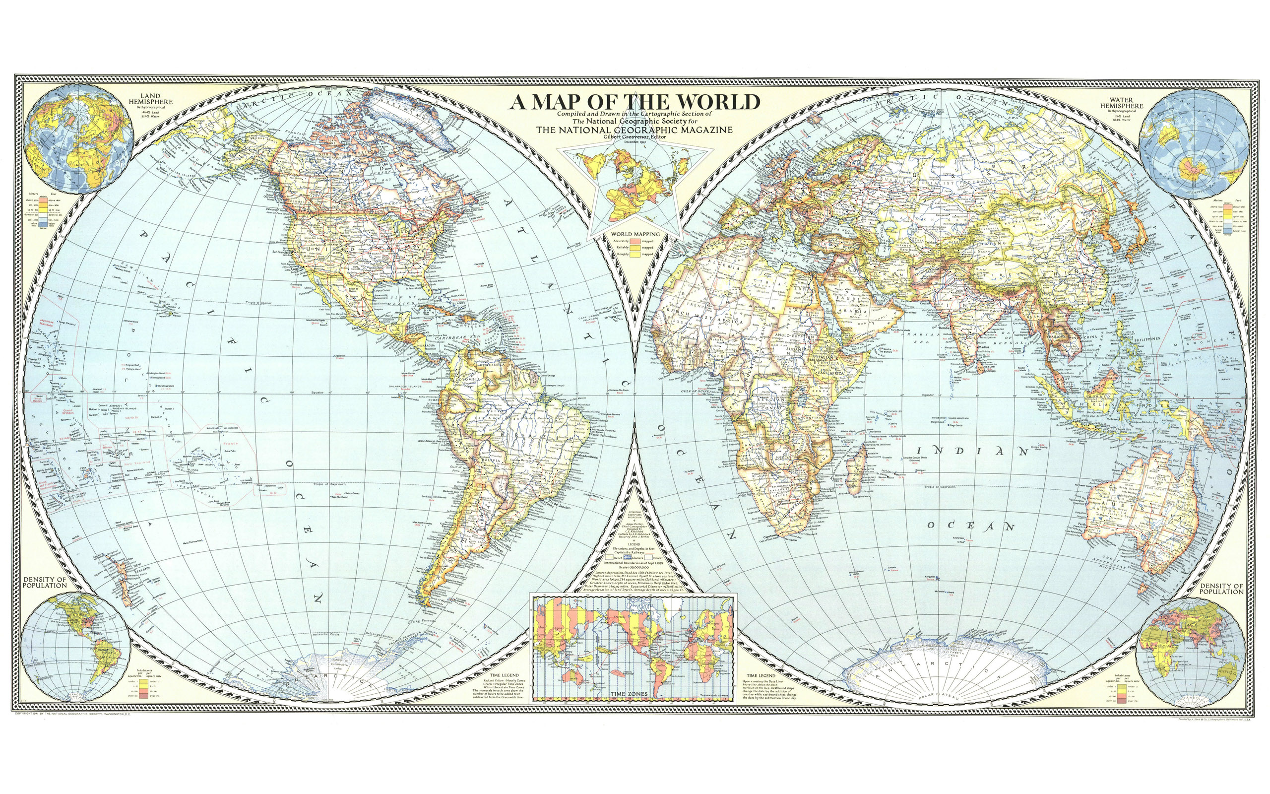 world map screensaver wallpaper