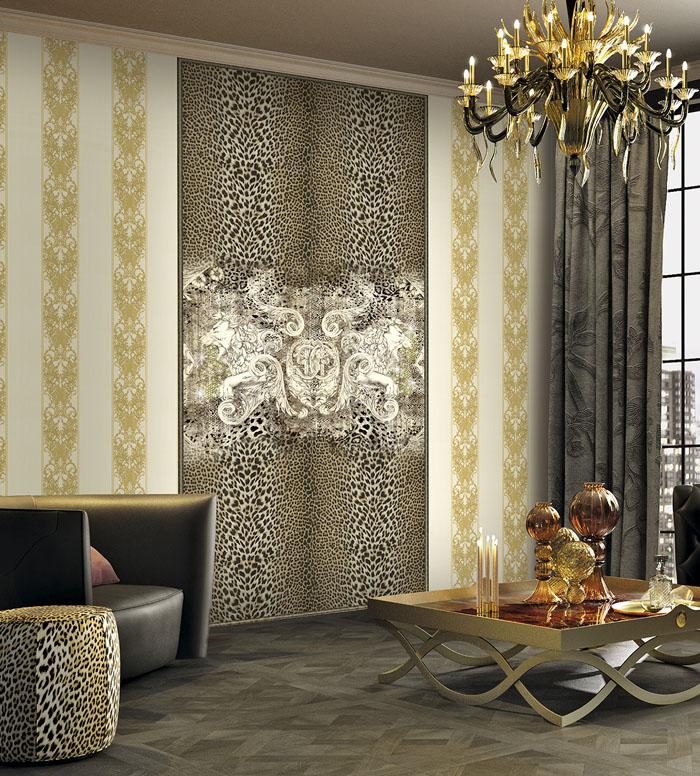 Roberto Cavalli Wallpaper 13   Custom Homes Magazine 700x776