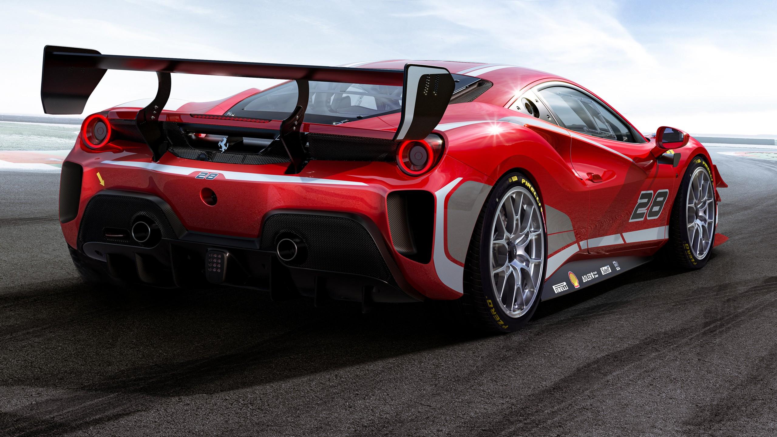 Ferrari 488 Challenge Evo 2020 4K Wallpaper HD Car Wallpapers 2560x1440