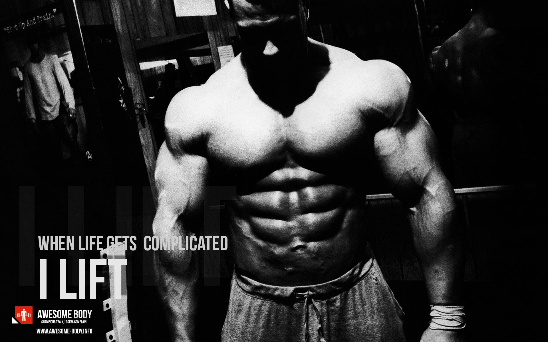 Bodybuilding Most Motivational Wallpapers I Lift Bodybuilding site 1920x1200