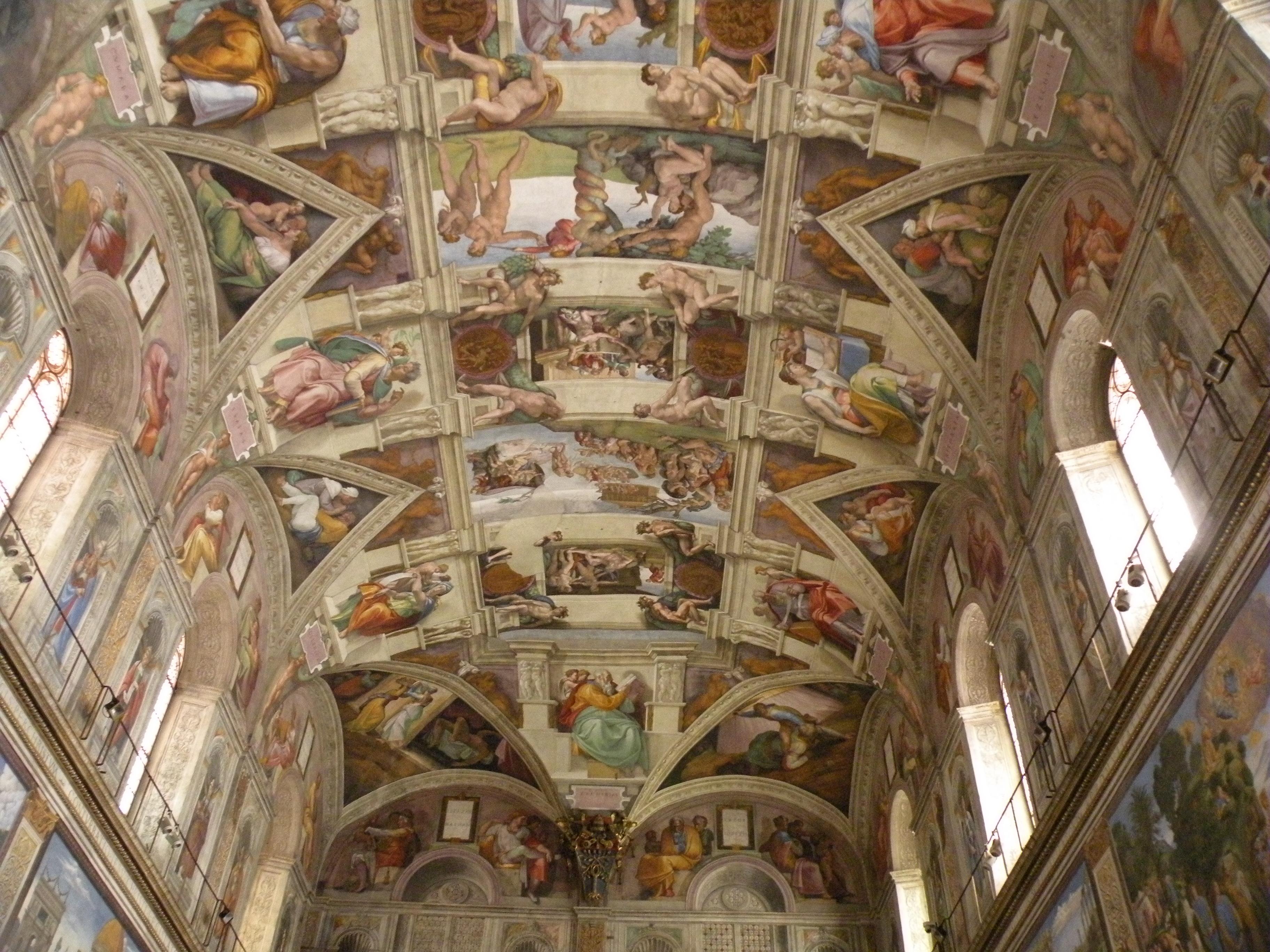 Sistine Chapel Wallpaper Wallpapersafari