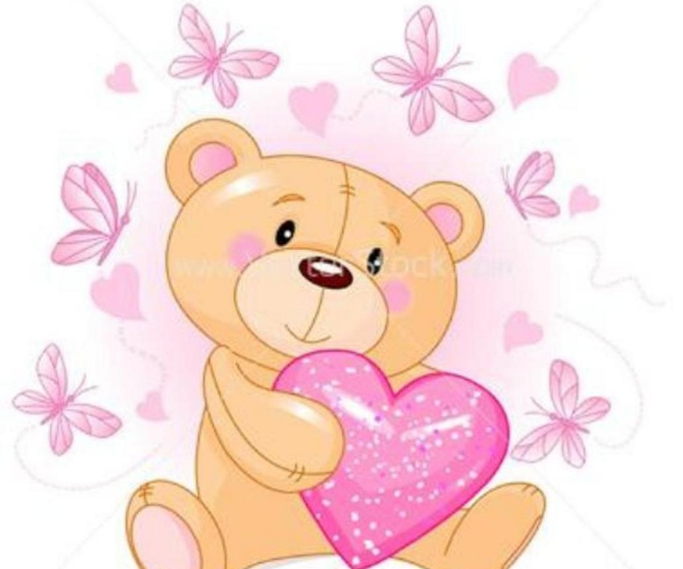 cute Teddy Bear Wallpaper - WallpaperSafari