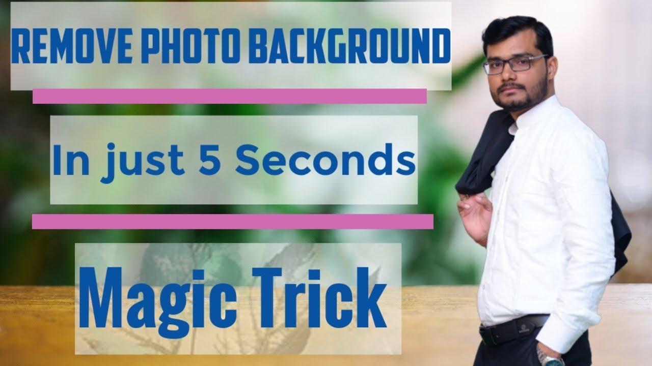 Remove Photo Background in jist 5 seconds Check It 1280x720