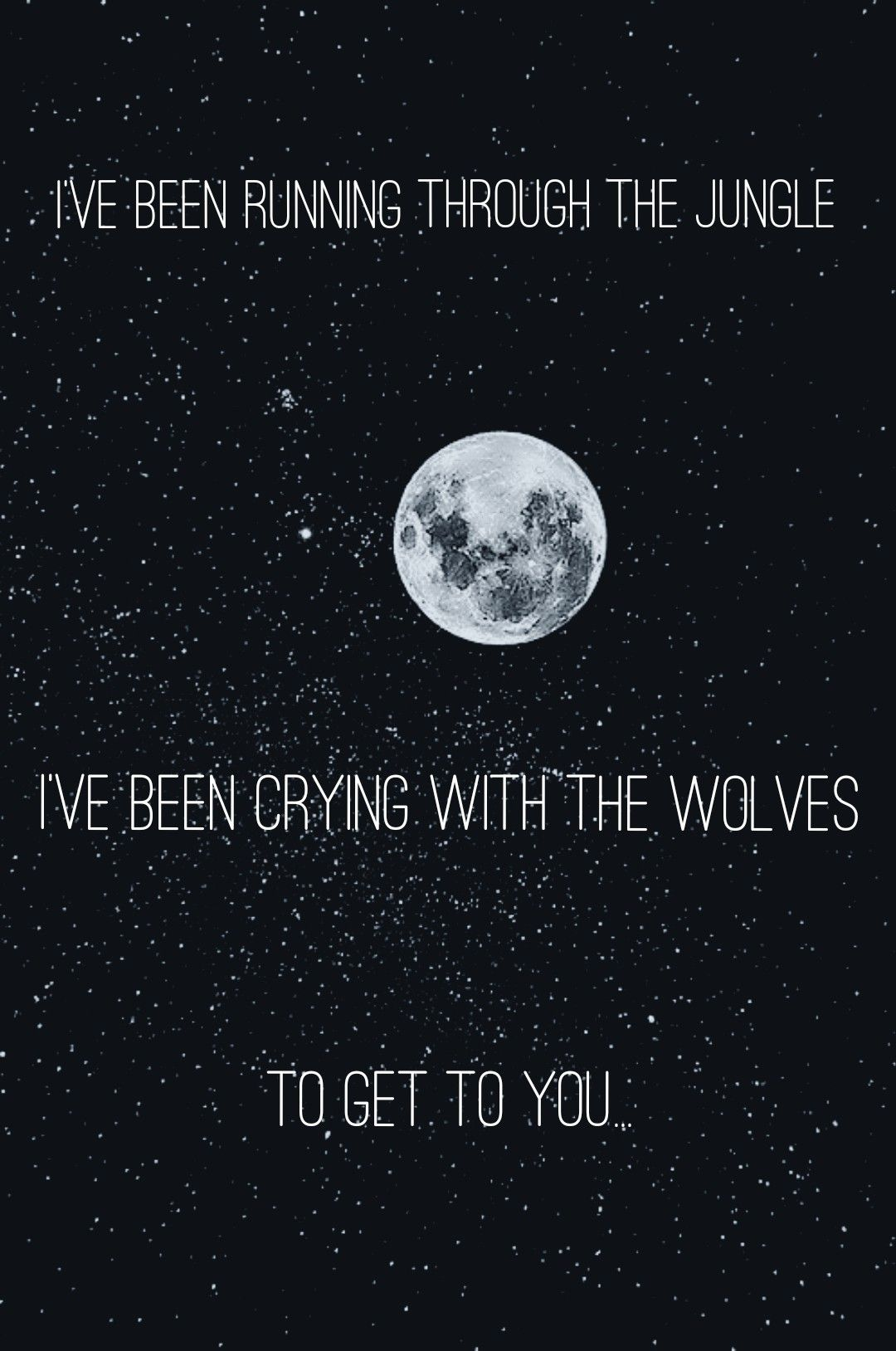 I love the song if you dont know what it is then its Wolves by 1080x1628