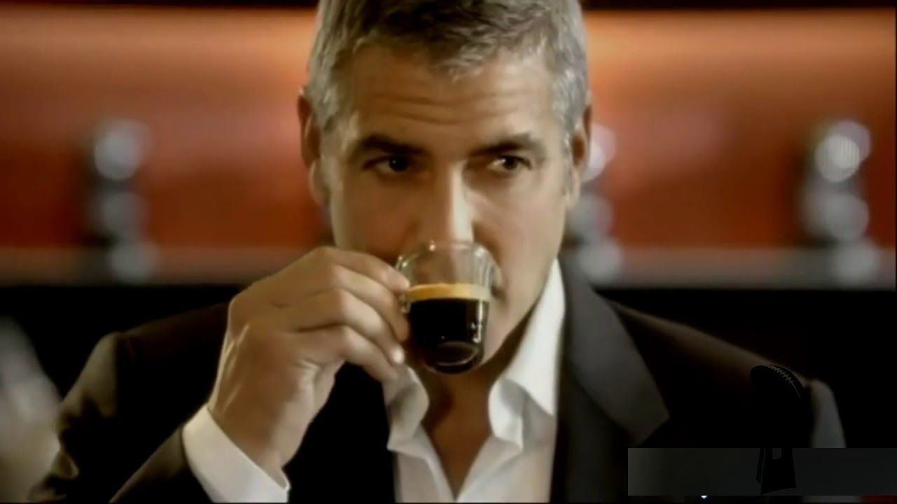 George Clooney All Adventures Nespresso Commercial Compilations 1280x720