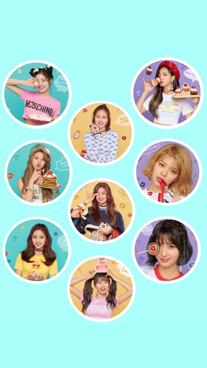 Mostly Kpop Backgrounds Twice What is Love Phone wallpaper 720x1280