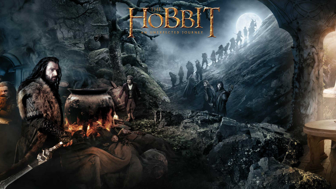 10 The Hobbit An Unexpected Journey HD Wallpapers for iPhone 5 1136x640
