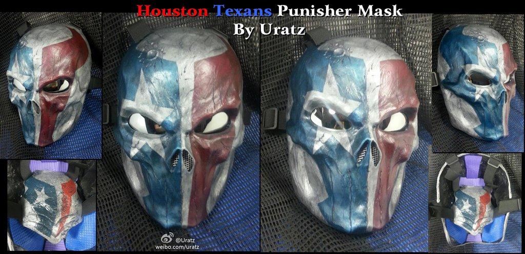 Houston Texans Punisher Mask 01 by Uratz Studios 1024x496