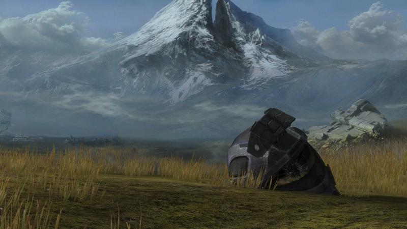 mountains spartan hills halo reach helmets Video Games Halo HD 800x450