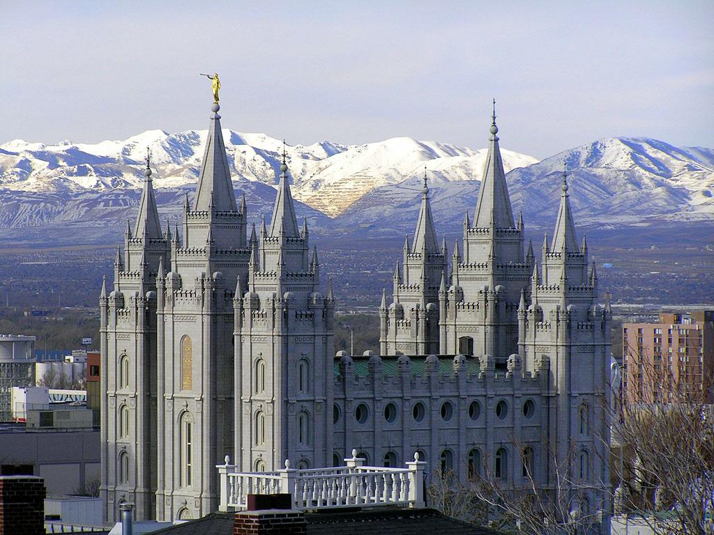 Salt Lake City Temple Wallpaper Travel