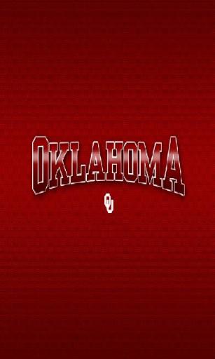 View bigger   Oklahoma OU Wallpaper for Android screenshot 307x512