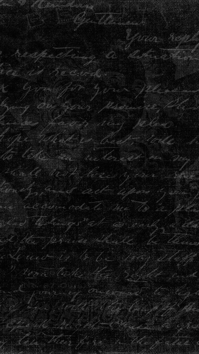 FREEIOS7 old dark note   parallax HD iPhone iPad wallpaper 640x1136