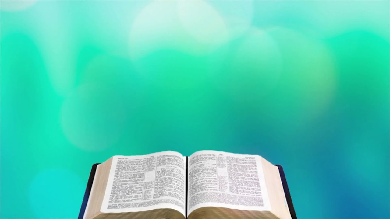 Open Bible video background 1280x720