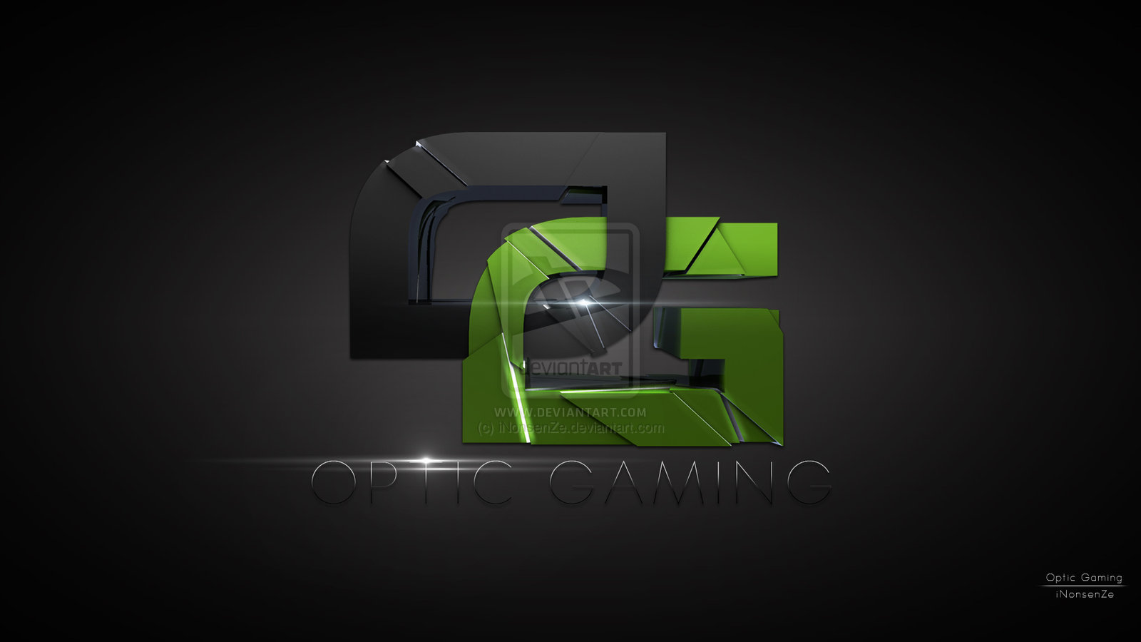 optic gaming by inonsenze digital art 3 dimensional art other optic 1600x900