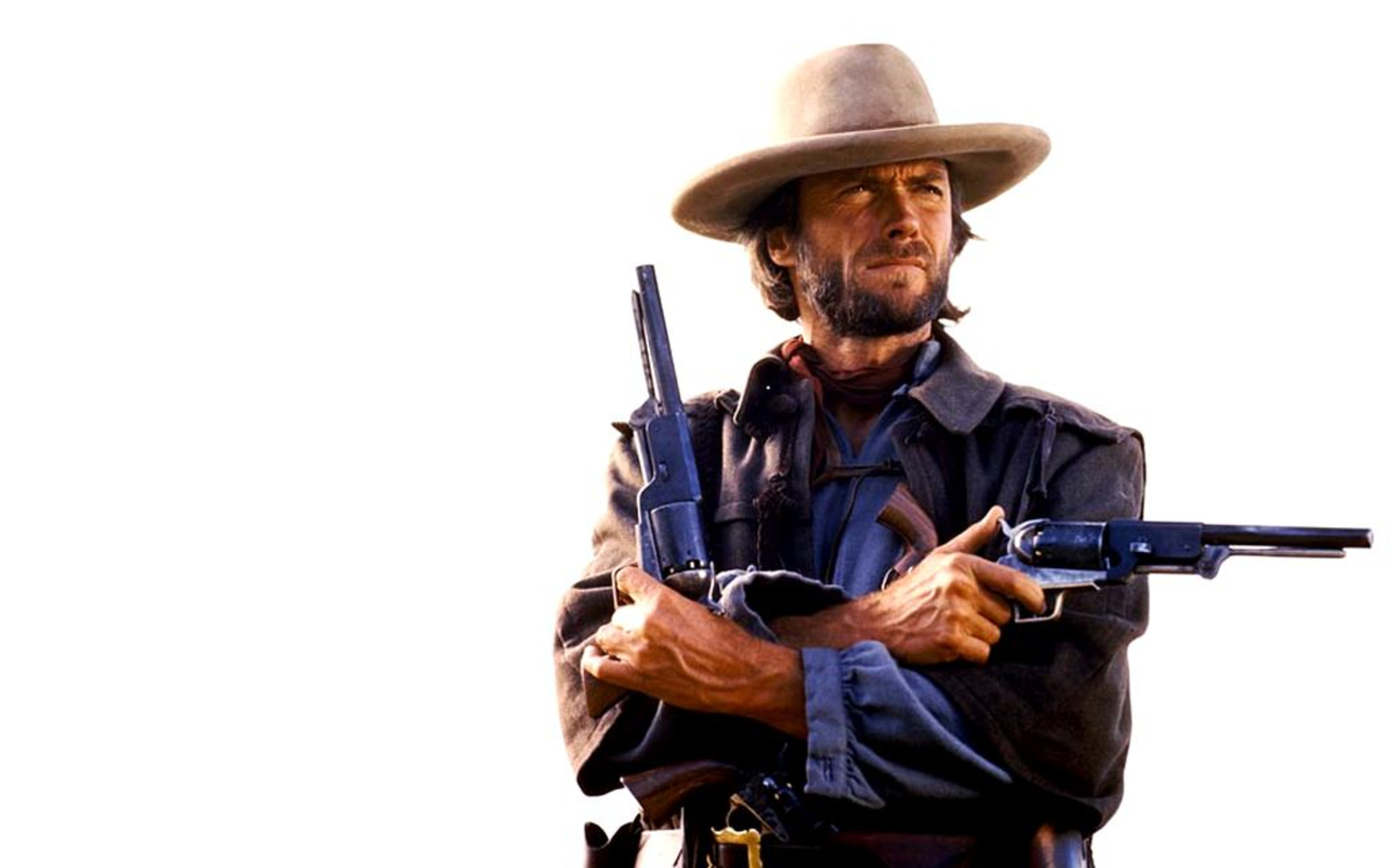 Clint Eastwood as Josey Wales in The Outlaw Josey Wales Clint 1680x1050