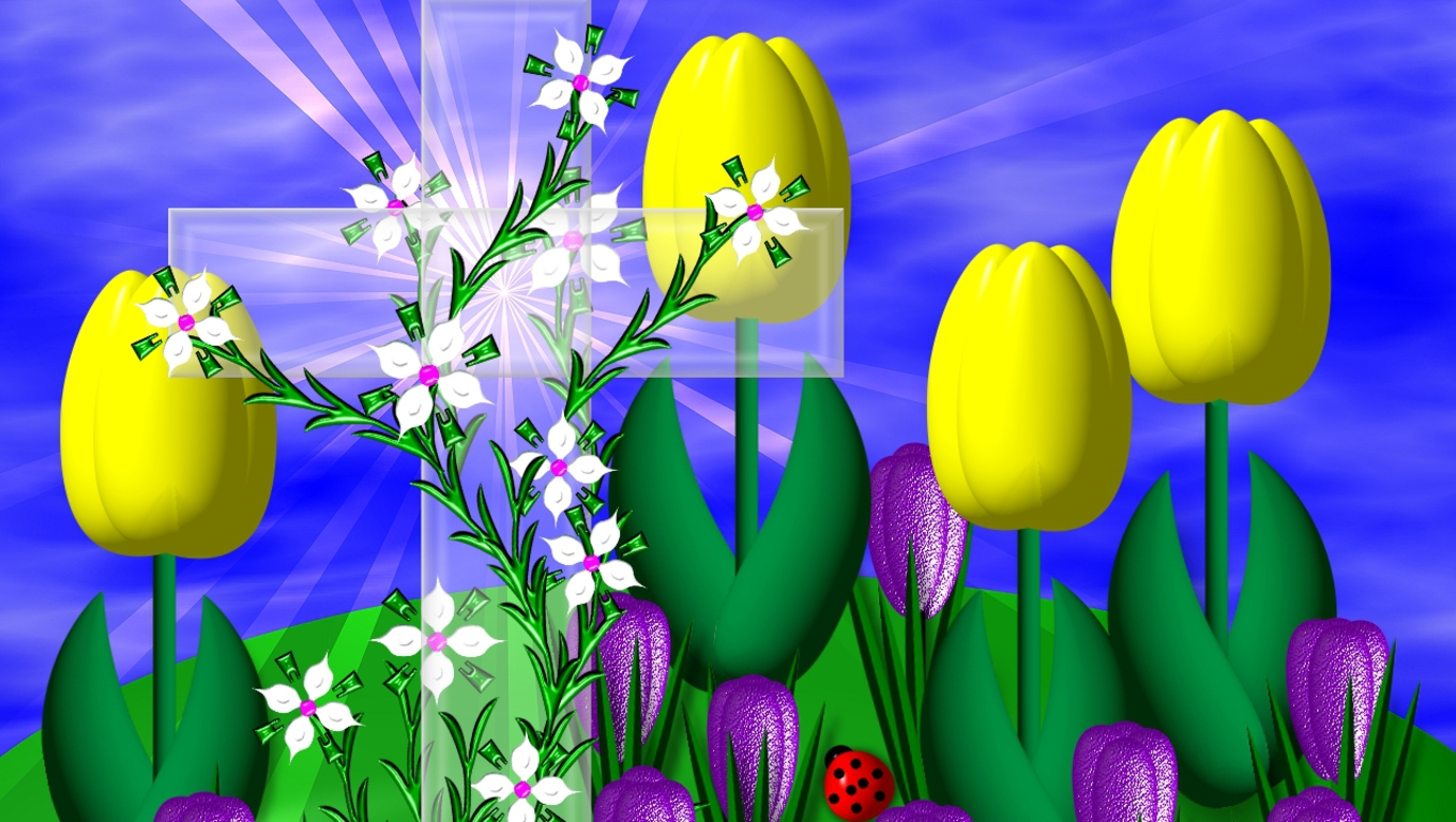 Pics Photos   Easter Wallpapers Easter Wallpapers Easter 1360x768